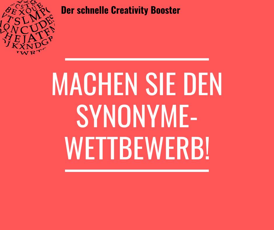 Der schnelle Creativity Booster #3