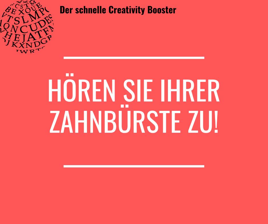 Der schnelle Creativity Booster #6