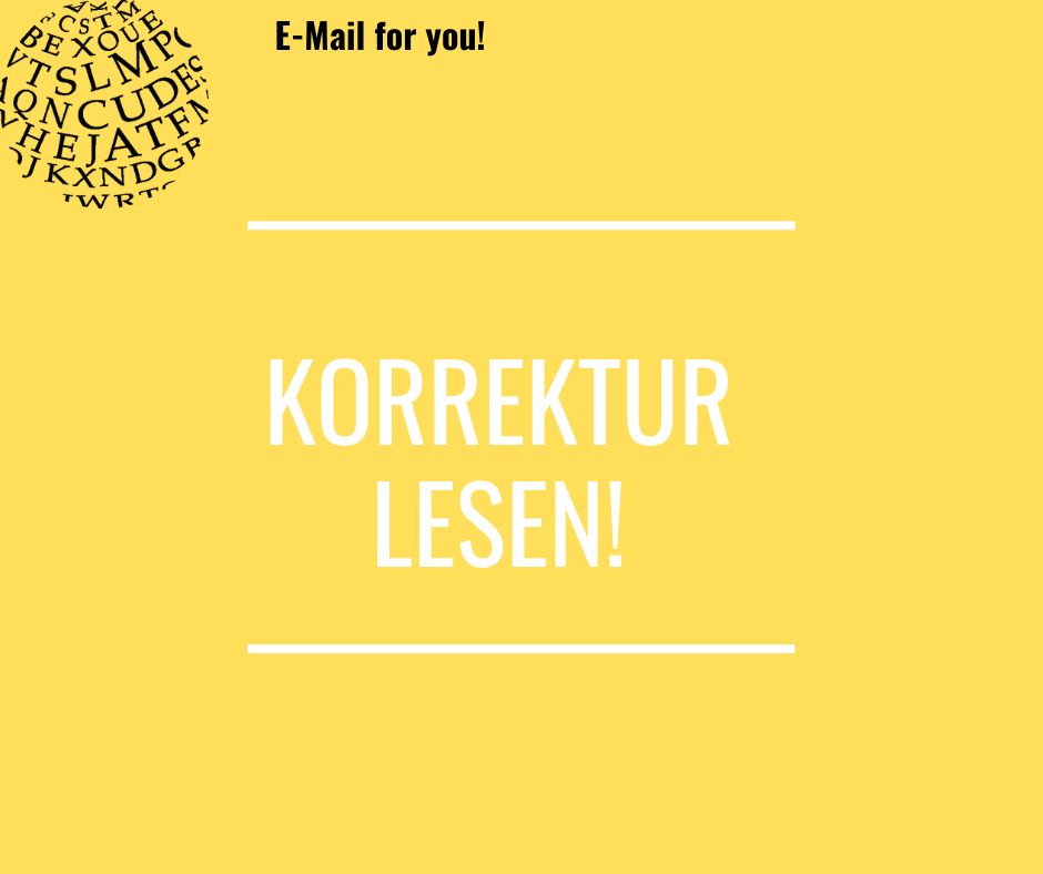 E-Mail for you! #1